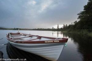 Boat at Loch Lossit