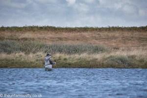 Casting over Loch Gorm