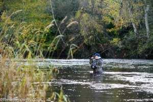 John Watson Grayling fishing