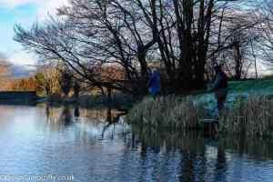 Anglers at Swanswater