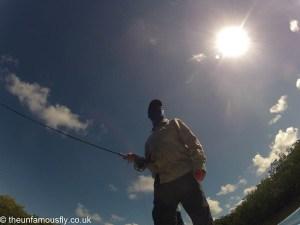 Stalking under a hit sun