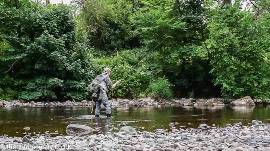 Challenging Fishing on the Usk