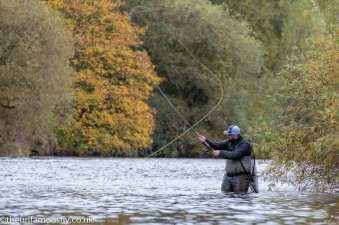 Jamie McCulloch of Loop Salmon fishing