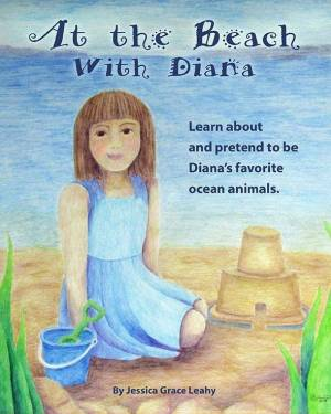 Children's Book - At The Beach With Diana - Children's Book