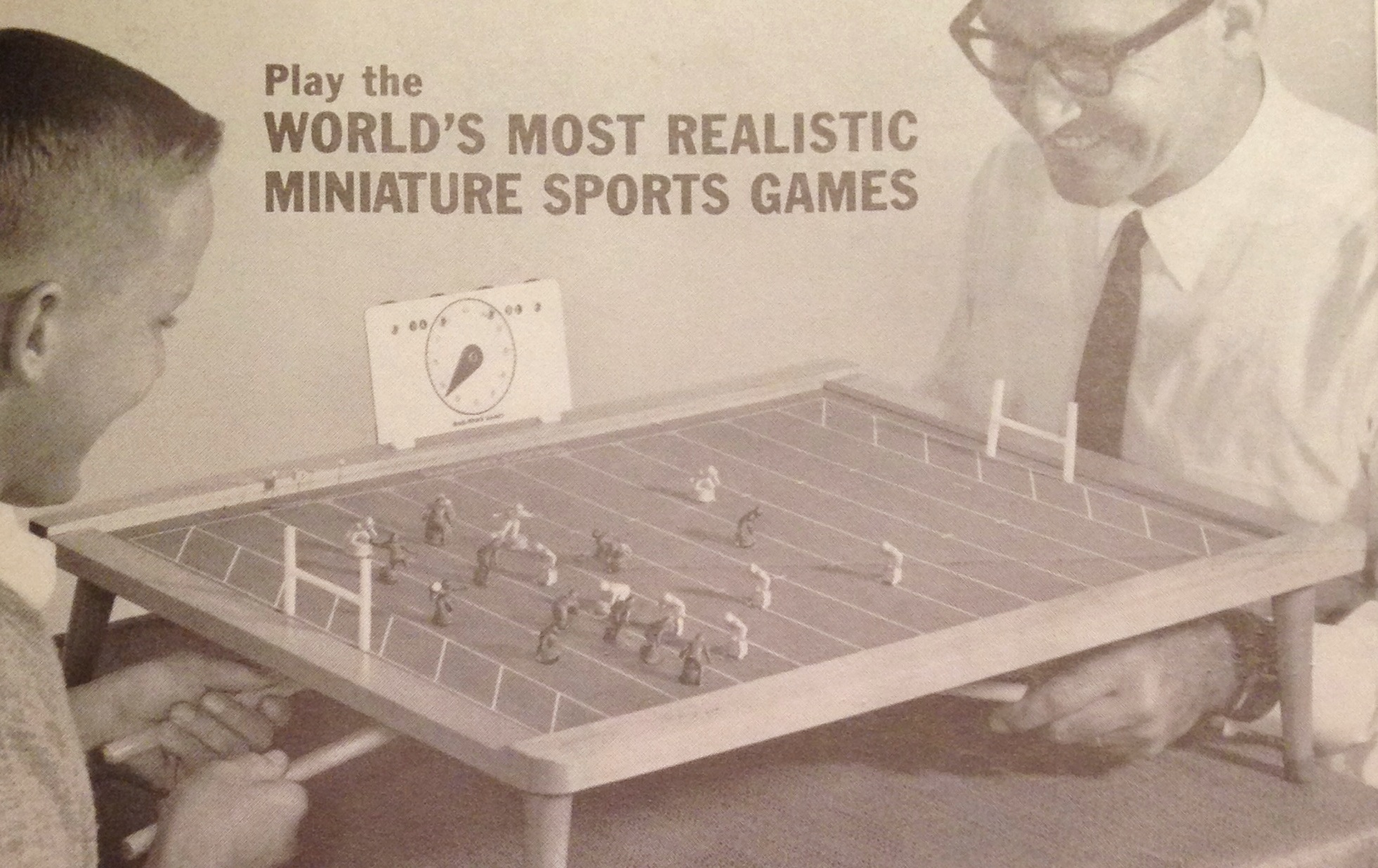 1960s Electric Football Competitor Mag Powr Football The Unforgettable Buzz