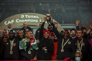 Al Ahly defeated Zamalek 2-1 to lift the CAF Champions League title on Friday.