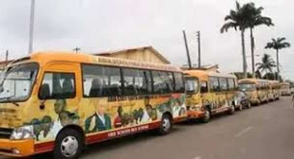 Abia Vehicles allegedly sold secretly.