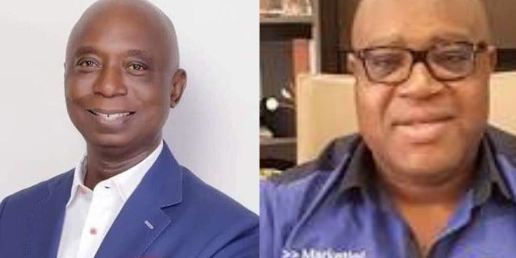 Ned Nwoko and Gabriel Ogbechie