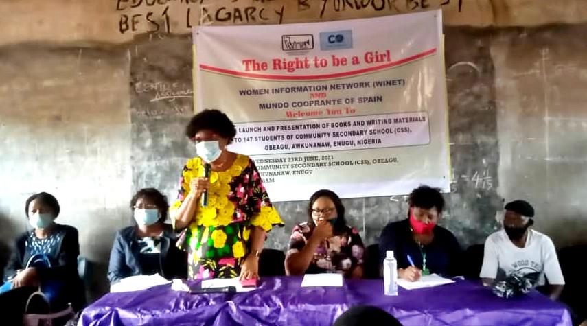 NGO Awards Scholarship To 147 Female Students In Enugu