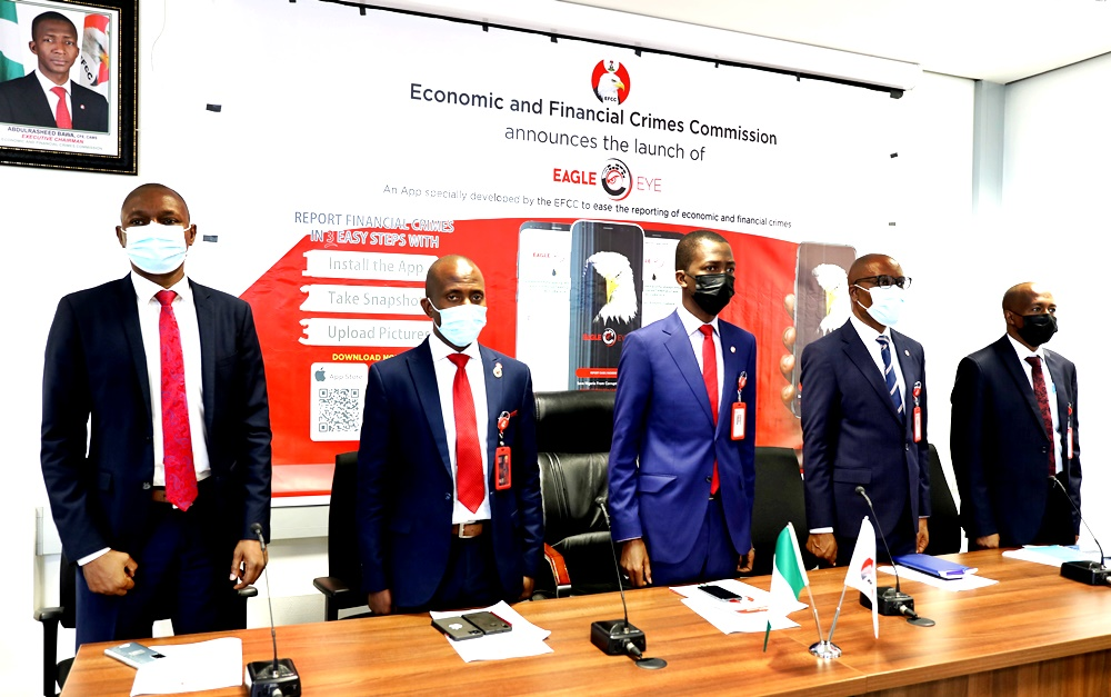 efcc launches New App for reporting corruption