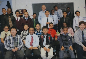 Uni Project partners with boys from George Jackson Academy