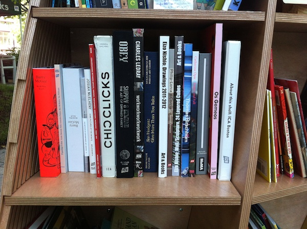 ICA shelf on the Greenway.