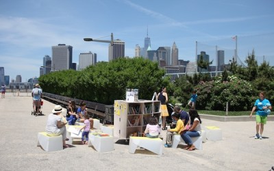 Uni in Summer Residency at Brooklyn Bridge Park