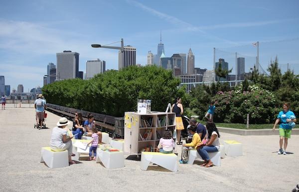 Uni in Summer Residency at Brooklyn Bridge Park