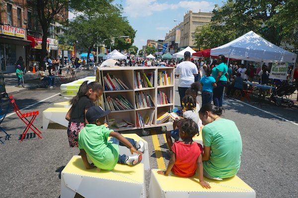 Uni in Brownsville, Brooklyn with Brooklyn Public Library