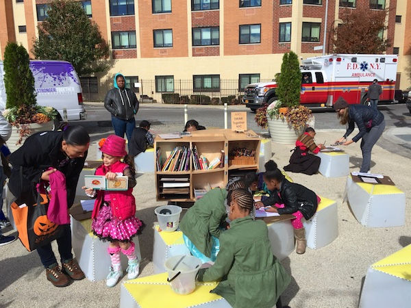 Uni wraps outdoor season at Zion Triangle Plaza in Brownsville, Brooklyn
