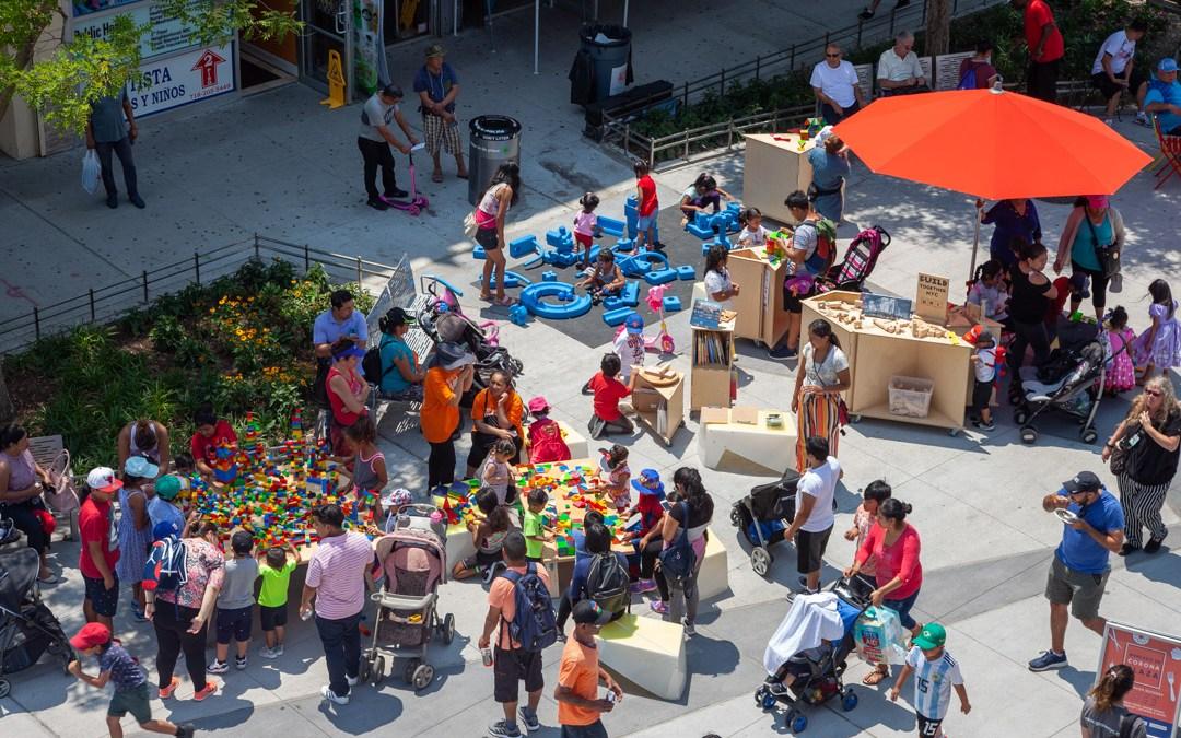 Uni Project returns to Corona Plaza for 10th Anniversary of NYC Plaza Program