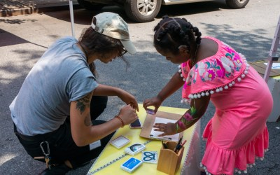 Creating a place to draw on the streets of NYC with Blick Art Materials