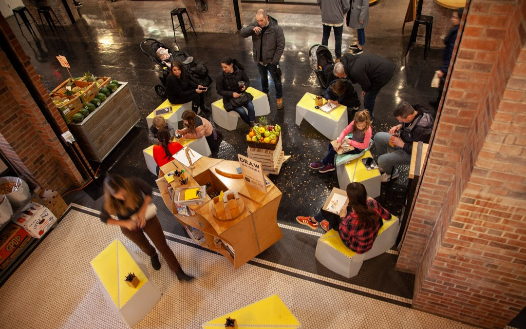 New residency for DRAW launched at Chelsea Market this weekend