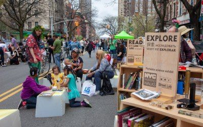 Our 2019 partnership with NYC DOT gets underway in East Village