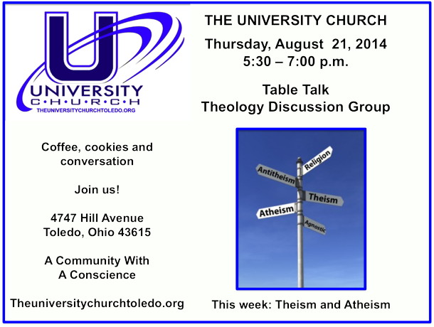August 21 2014 theology group