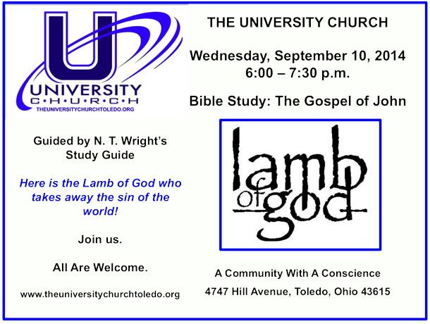 September 10 2014 Bible Study