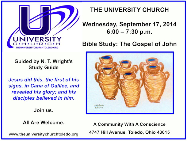 September 17 2014 Bible Study