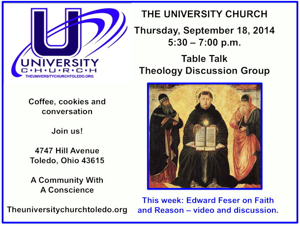 September 18 2014 theology group