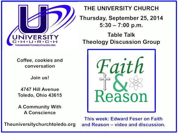 September 25 2014 theology group