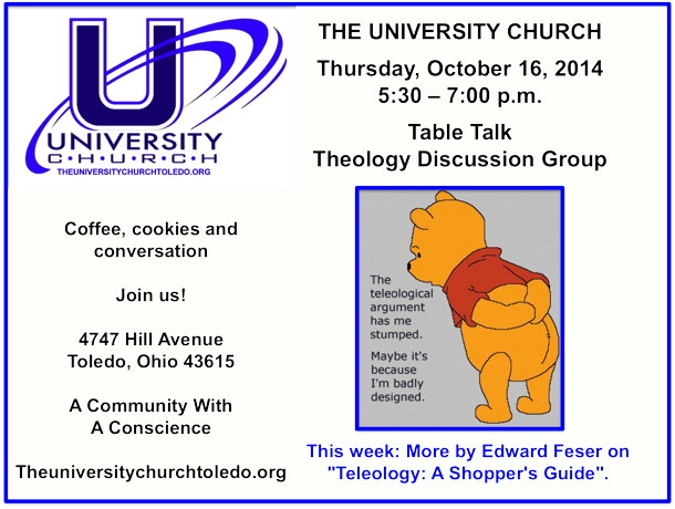 October 16 2014 Theology Group