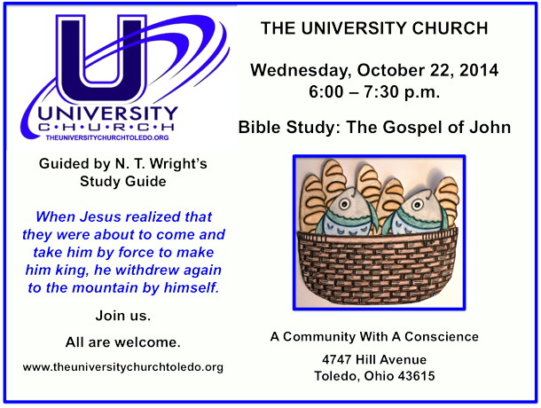 October 22 2014 Bible Study