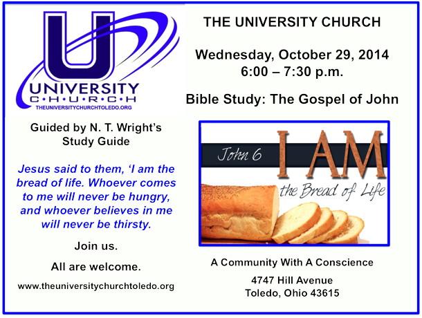 October 29 2014 Bible Study