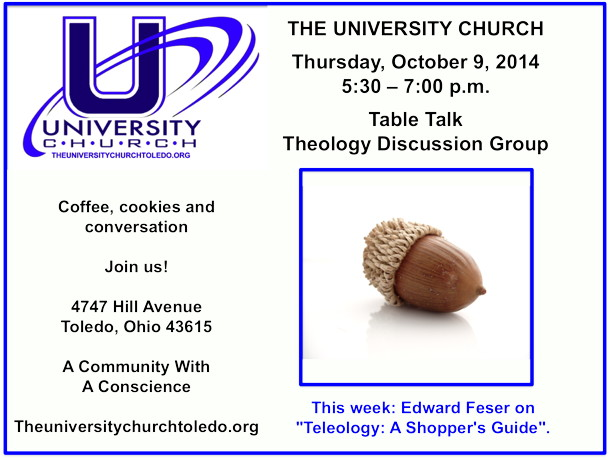 October 9 2014 Theology Group