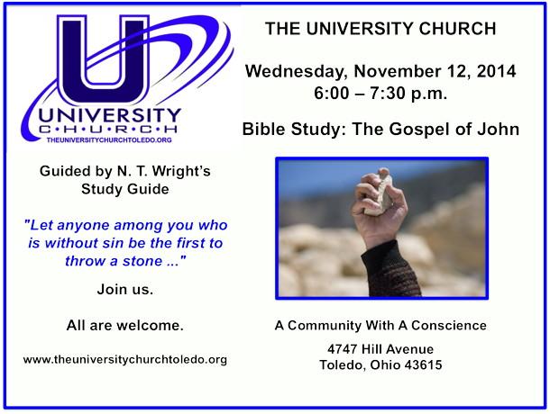 November 12 2014 Bible Study