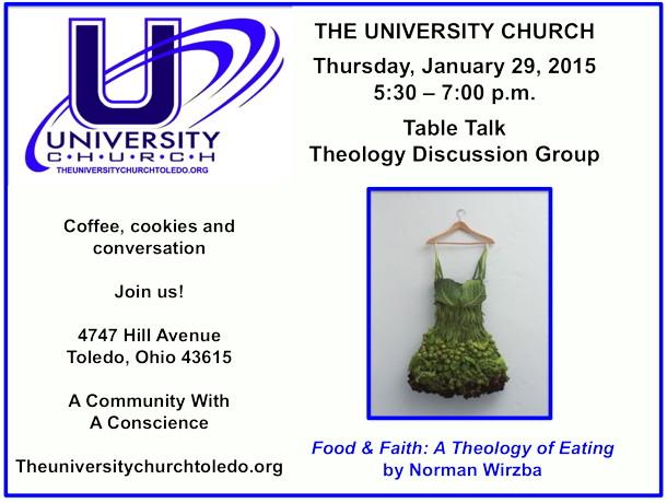 January 29 2015 Theology Group
