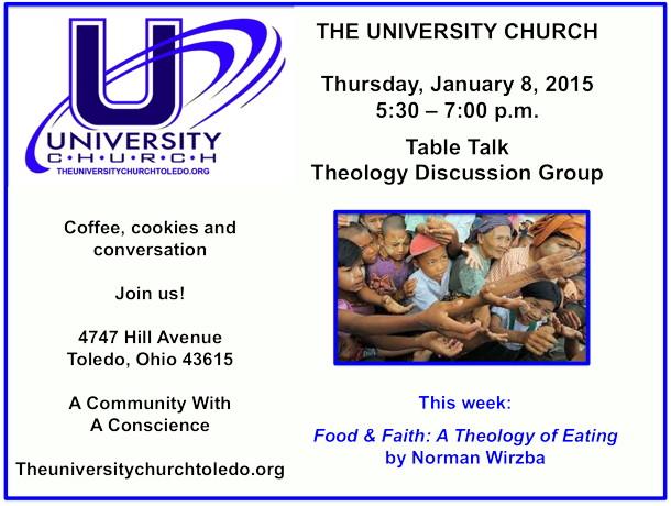 January 8 2015 Theology Group