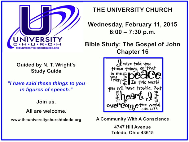 February 11 2015 Bible Study
