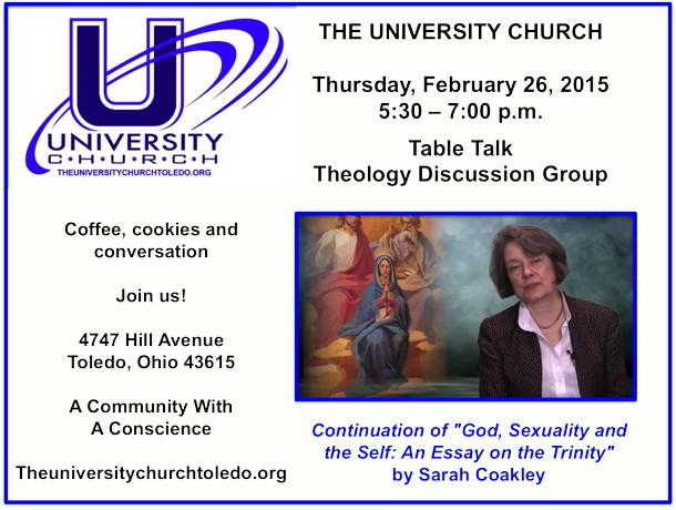 February 26 2015 Theology Group