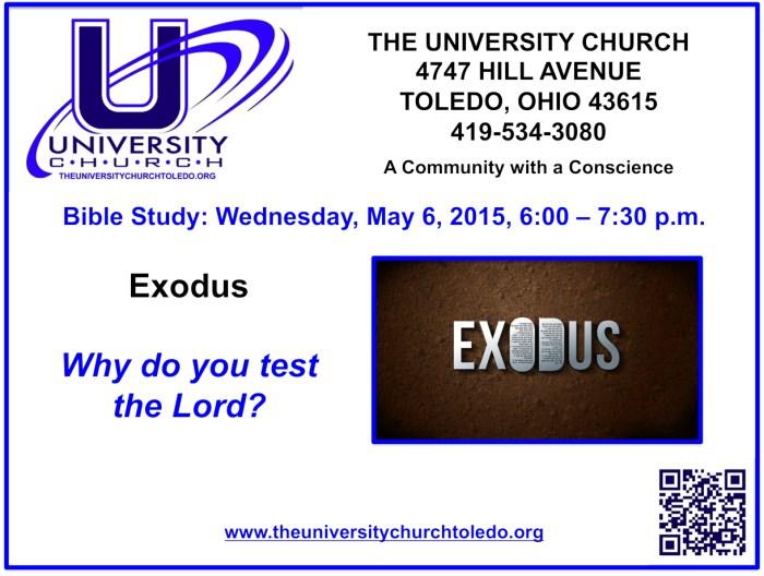 May 6 2015 Bible Study