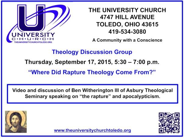 September 17 2015 theology group