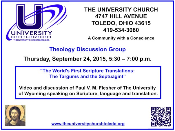 September 24 2015 Theology Group