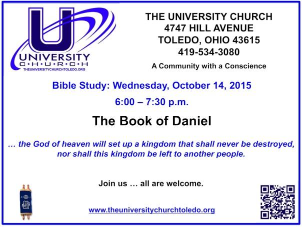 October 14 2015 Bible Study