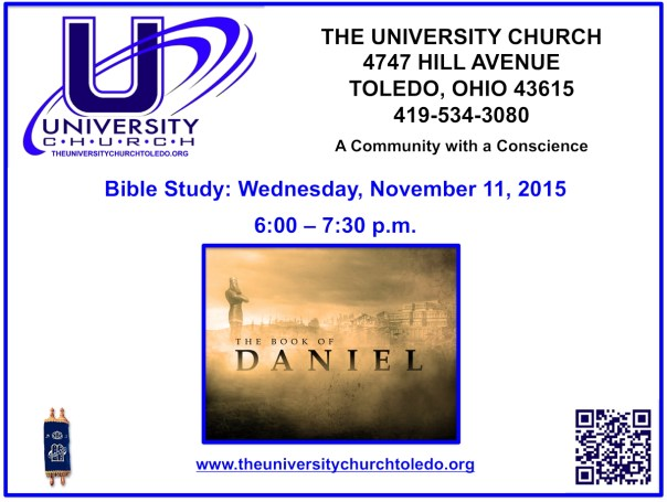November 11 2015 Bible Study