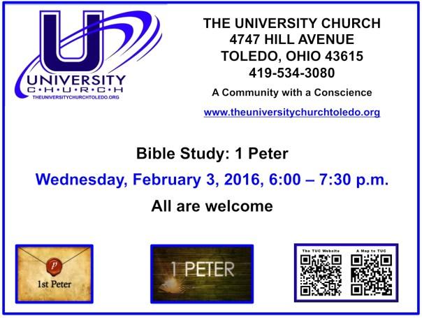 February 3 2016 Bible Study