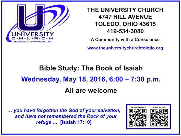 May 18 2016 Bible Study