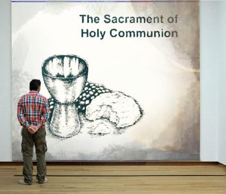 Communion poster