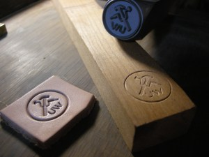 Custom stamp by Infinity Stamps, Inc.