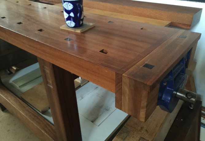 David Charlesworth workbench