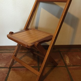 A Funeral Chair in California