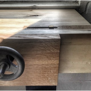 Installing a Benchcrafted Moxon Vice at the UW Toronto